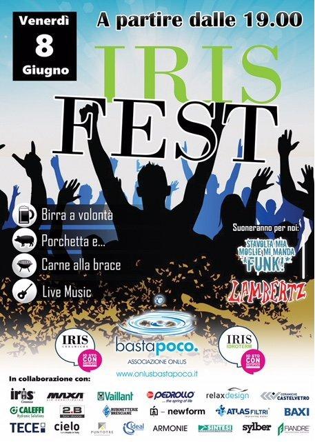 Per il terzo anno consecutivo…IRIS FEST!