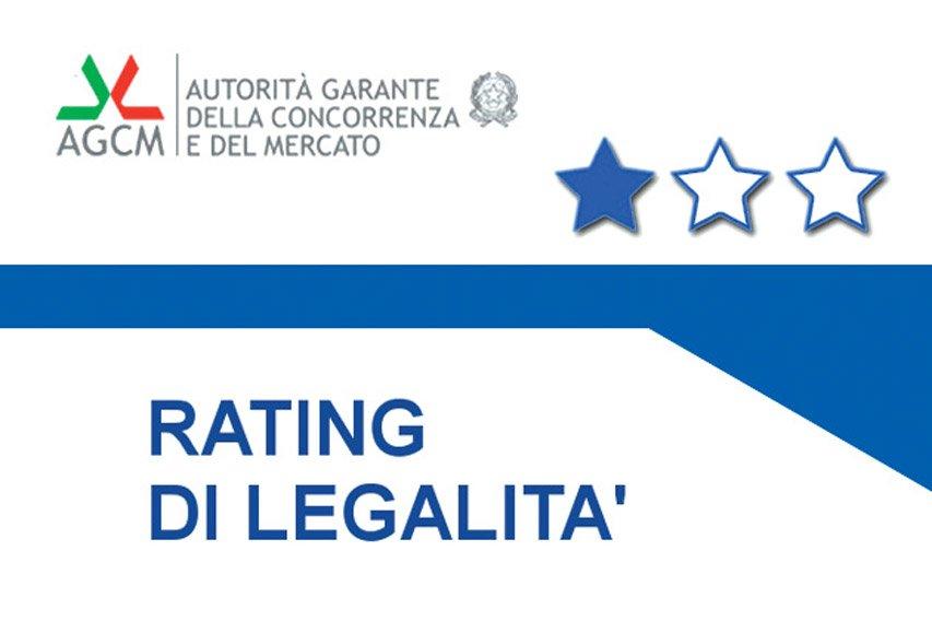 Riconoscimento del rating di Legalità per Iris Idroterm